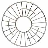 11'' Round Bottom Grid in Stainless Steel, 11''Diameter x 1/4''H