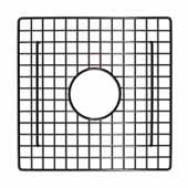 12'' Square Bottom Grid in Mocha, 12''W x 12''D x 1/4''H