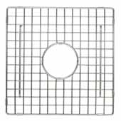 12'' Square Bottom Grid in Stainless Steel, 12''W x 12''D x 1/4''H