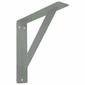 Empire Gusseted Bracket In Grey, 16''W x 2''D x 16''H