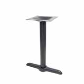 2000-BPS Series Table Base in Stamped Steel, Table Height, 28-1/4' High, 5' W x 22' D End Style Base