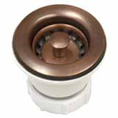 2'' Jr. Strainer in Solid Copper, 2-3/4''Diameter x 2-7/8''H