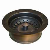 3-1/2'' Basket Strainer with Disposer Trim in Oil Rubbed Bronze, 1-5/8''Diameter x 4-1/2''H