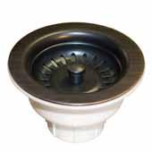 3-1/2'' Basket Strainer in Oil Rubbed Bronze, 2-1/2''Diameter x 4-1/2''H