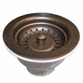 3-1/2'' Basket Strainer in Weathered Copper, 2-1/2''Diameter x 4-1/2''H