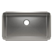 Classic Collection 3235 Undermount 16 Gauge Stainless Steel Single Bowl Kitchen Sink, 31-1/2''W x 18-1/2''D x 10''H