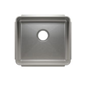 Classic Collection 3244 Undermount 16 Gauge Stainless Steel Single Bowl Kitchen Sink, 19-1/2''W x 17-1/2''D x 10''H