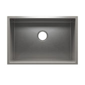 J7® Collection 3973 Undermount 16 Gauge Stainless Steel Single Bowl Utility Sink, 25-1/2''W x 17-1/2''D x 12''H