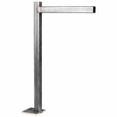 Atlas ADA Floating Vanity Support In Cold Rolled Steel, 25''W x 6''D x 37-1/2''H