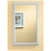 Jensen (Formerly ) Hampton Medicine Cabinet, White Frame, 15-3/4'' W x 5'' D x 25-1/2'' H
