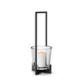 Nero Lantern, Square Handle, Black Matte Finish, Medium
