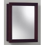 Jensen (Formerly Broan) Sheridan Surface Mount 1 Door Medicine Cabinet w/ Espresso Finish, Espresso Frame, Particle Board PVC Laminate Construction w/ 1 Fixed Particle Board Shelf, 15''W x 4-3/4''D x 19''H