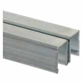 Sliding Door Track Upper Channel, 144'' Length
