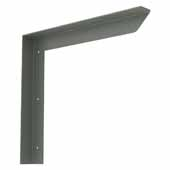 Carolina Heavy Duty Half Wall Counter Support Bracket In Grey, 16''W x 2''D x 16''H