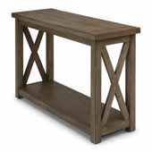 Flexsteel® Mountain Lodge Console Table In Multi-Colored Gray, 48''W x 17''D x 30''H