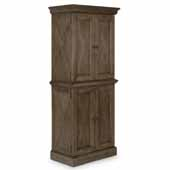 Flexsteel® Mountain Lodge Pantry In Multi-Colored Gray, 30-1/2''W x 18-1/4''D x 72''H