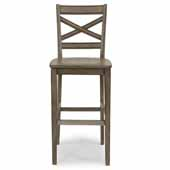 Flexsteel® Mountain Lodge Bar Stool In Multi-Colored Gray, 18''W x 20-3/4''D x 46-3/4''H