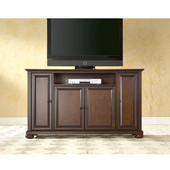 Alexandria 60'' TV Stand in Vintage Mahogany Finish