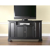 LaFayette 60'' TV Stand in Black Finish