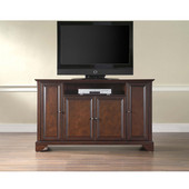 LaFayette 60'' TV Stand in Vintage Mahogany Finish