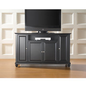 Cambridge 60'' TV Stand in Black Finish