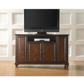 Cambridge 60'' TV Stand in Vintage Mahogany Finish