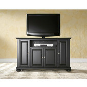 Alexandria 48'' TV Stand in Black Finish