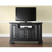 LaFayette 48'' TV Stand in Black Finish
