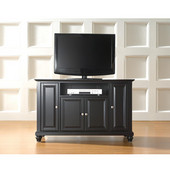 Cambridge 48'' TV Stand in Black Finish