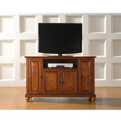 Cambridge 48'' TV Stand in Classic Cherry Finish