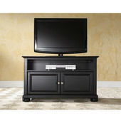Alexandria 42'' TV Stand in Black Finish