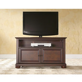 Alexandria 42'' TV Stand in Vintage Mahogany Finish