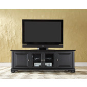 Alexandria 60'' Low Profile TV Stand in Black Finish