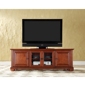 Alexandria 60'' Low Profile TV Stand in Classic Cherry Finish