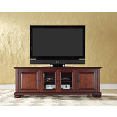 Alexandria 60'' Low Profile TV Stand in Vintage Mahogany Finish