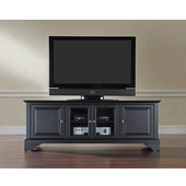 LaFayette 60'' Low Profile TV Stand in Black Finish