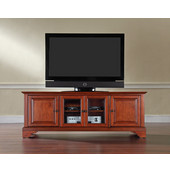 LaFayette 60'' Low Profile TV Stand in Classic Cherry Finish