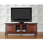 Cambridge 60'' Low Profile TV Stand in Vintage Mahogany Finish