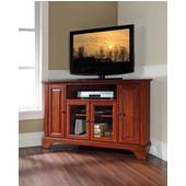 LaFayette 48'' Corner TV Stand in Classic Cherry Finish