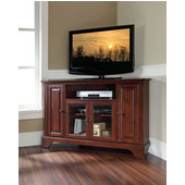 LaFayette 48'' Corner TV Stand in Vintage Mahogany Finish