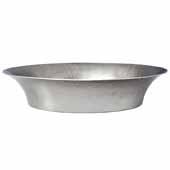 Maestro Bajo Bathroom Sink in Brushed Nickel, 16-1/4''Diameter x 4-3/4''H