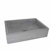 Nipomo Bathroom Sink in Ash, 19-1/2''W x 15''D x 4-1/2''H