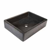 Nipomo Bathroom Sink in Slate, 19-1/2''W x 15''D x 4-1/2''H