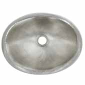 Rolled Baby Classic Bathroom Sink in Brushed Nickel, 15-1/2''W x 12''D x 5''H