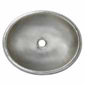 Rolled Classic Bathroom Sink in Brushed Nickel, 18-1/2''W x 15-1/2''D x 5-1/2''H