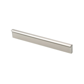 Contemporary Collection Profile Pull in Stainless Steel Look, 5-7/8''W x 3/4''D x 1/2''H (CTC 5'')