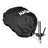 Grill Cover/Tote for Original Size Grill, Jet Black