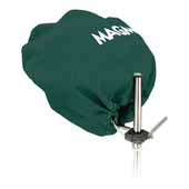 Grill Cover/Tote for Party Size Grill, Forest Green