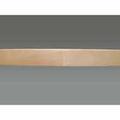32'' Diameter Banded Wood Kidney Lazy Susan Shelf Only