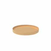 24'' Diameter Natural Wood Full Circle Shelf Only